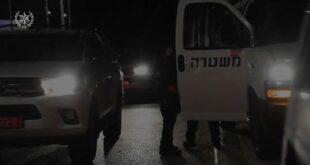 """מבצע """"חוק וסדר"""": כוחות משטרה גדולים, בשיתוף שירות הביטחון הכללי, פשטו ..."""