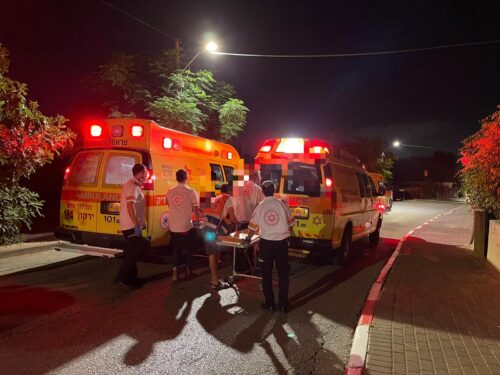 WhatsApp-Image-2021-06-11-at-10.13.10-500x375 פצוע קשה, 2 בינוני ו-2 קל בהתנגשות רכב בקיר סמוך למושב ברקת