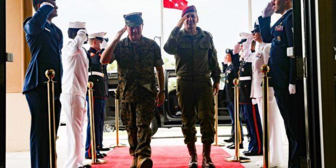 """הרמטכ""""ל בארה""""ב: """"שיתוף הפעולה עם הצבא האמריקאי הוא חסר תקדים"""""""