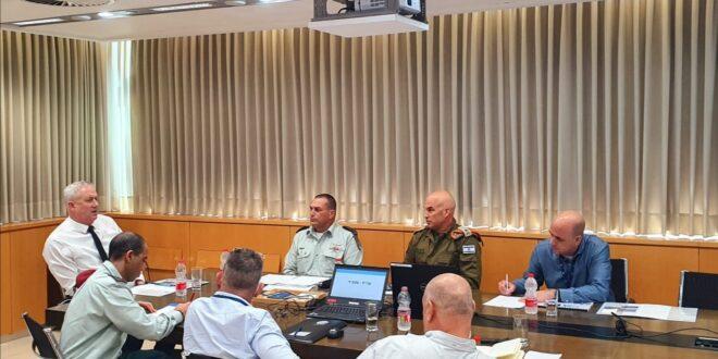 שר הביטחון סיכם על הארכת פעילותה של מפקדת אלון עד חודש ספטמבר