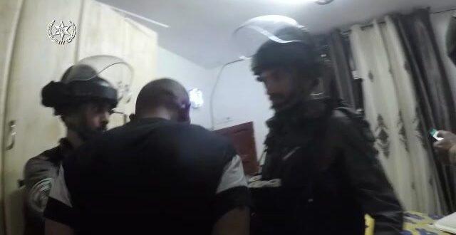 """מסתערבי מג""""ב עצרו חשוד ביידוי אבנים שהביא לפציעתו של לוחם במזרח ירושלים"""