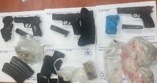 במסגרת פעילות מבצעית נגד החזקת נשק בלתי חוקי בחברה הערבית, נתפסו שלושה...