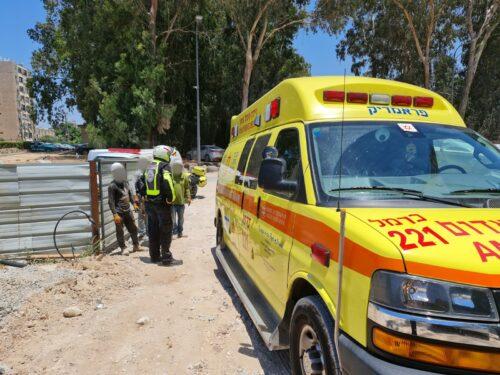 WhatsApp-Image-2021-07-01-at-13.24.07-500x375 פועל בן 64 נפצע קשה בתאונת עבודה באתר בניה בקרית ים