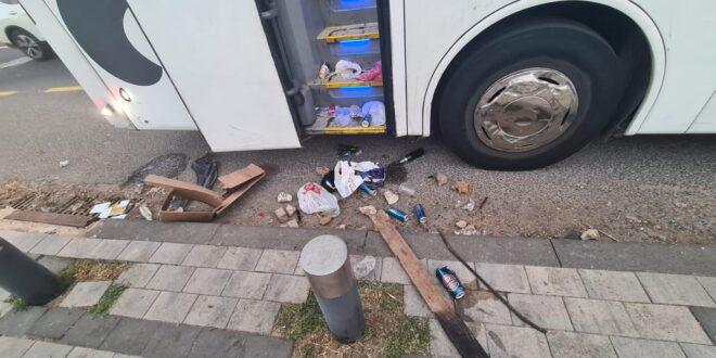 קטטה בסמי עופר: שוטר אחד נפצע קל וחמישה אוהדים נעצרו