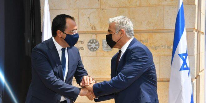 """שר החוץ ומקבילו הקפריסאי: """"חולקים דאגה עמוקה מהמהלכים הפרובוקטיבים של טורקיה בקפריסין"""""""