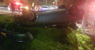 תאונת דרכים ברחובות