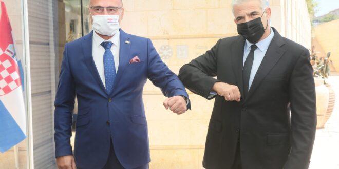 """שר החוץ נפגש עם מקבילו הקרואטי: """"קרואטיה תומכת בחיבור בין ישראל לאיחוד האירופי"""""""