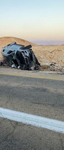 תאונה קשה בכביש 90
