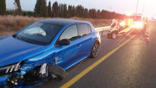 תאונת דרכים צומת הטייסים