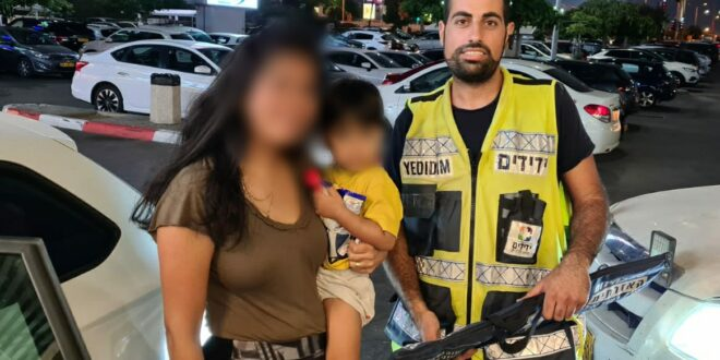 ראשון לציון: בן 3 ננעל בשגגה ברכב וחולץ בשלום