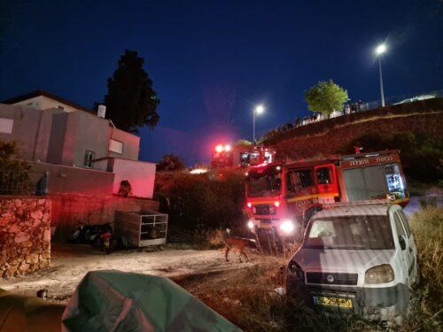 שריפה בבית מגורים בטבריה