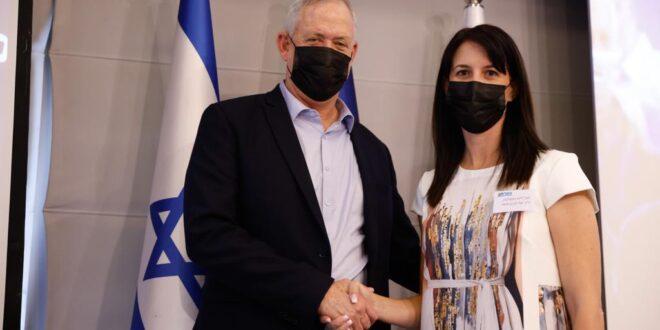 """כחול לבן: אושר בפה אחד מינוי יעל רון בן משה למזכ""""לית המפלגה"""