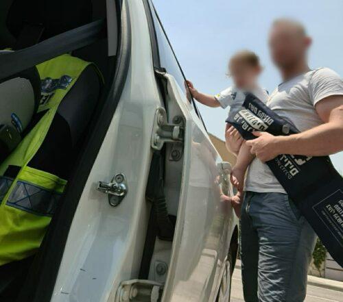 ילד חולץ מרכב ביתר עילית