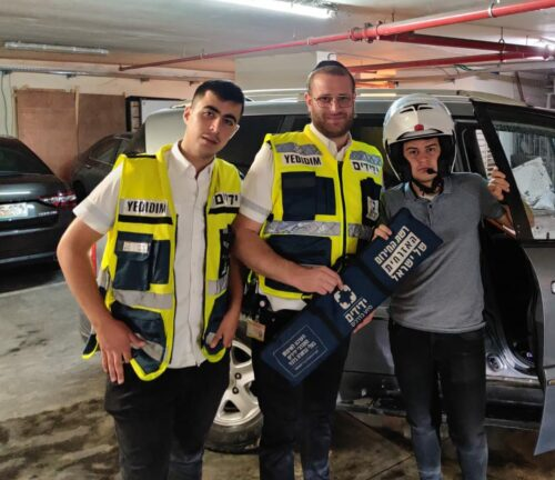 חילוץ ילד מרכב בירושלים