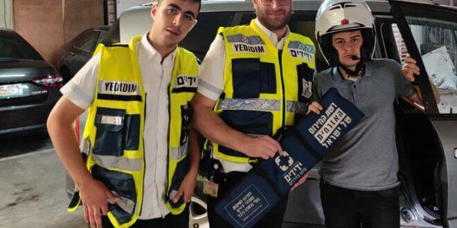 ילד ננעל ברכב בירושלים וחולץ בשלום על ידי מתנדבי ידידים