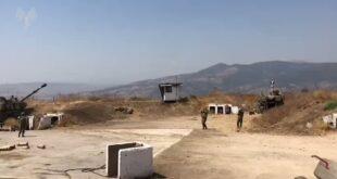 """תיעוד מהתקיפות הארטילריות של צה""""ל ברחבי גבול לבנון בשעות האח..."""