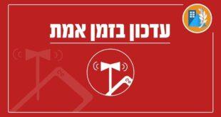 בעקבות שלושה שיגורים שזוהו משטח לבנון לשטח ישראל, הופעל...