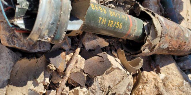 """אחרי עשרות שנים: שתי פצצות """"בזוקה"""" ישנות מימי מלחמת השחרור אותרו בירושלים"""