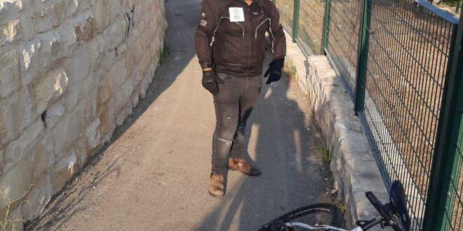 בן 60 נפצע כתוצאה מנפילה מאופניים בירושלים, מצבו בינוני