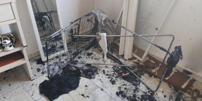 באר שבע: שני ילדים חולצו משריפה שפרצה בדירה בעיר