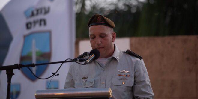 """אלוף משנה סיון בלוך הוא מפקדה החדש של עוצבת """"חירם"""""""