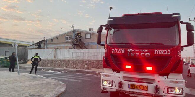 אילת: שריפה פרצה במתחם BIG, אין נפגעים