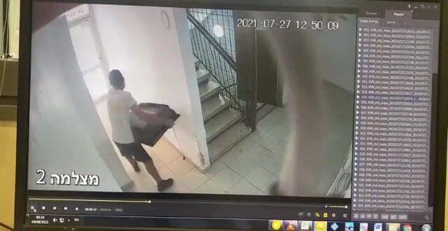"""אישום: בן 20 גנב שלוש מסכי טלוויזיה מדירה בת""""א """"תוך הקפדה על עטיית מסיכה"""""""