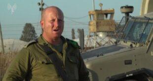 """דברי מפקד החטיבה המרחבית """"מנשה"""", אלוף-משנה אריק מויאל, בנושא..."""