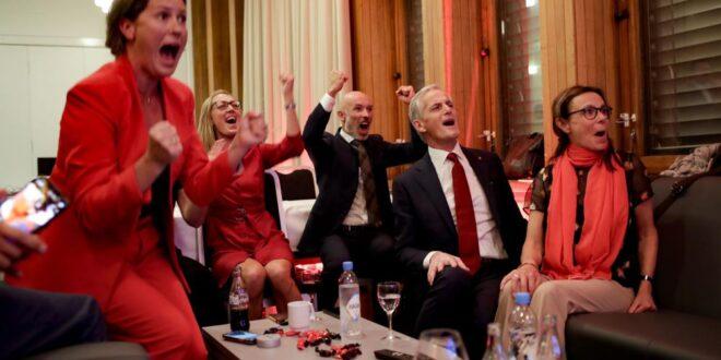 נורבגיה: מהפך בשלטון – מפלגות המרכז- שמאל צפויות להרכיב את הממשלה הבאה