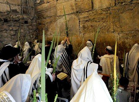 מוצאי חג הסוכות: כמיליון וחצי מתפללים בבתי הכנסת ומנייני הרחוב