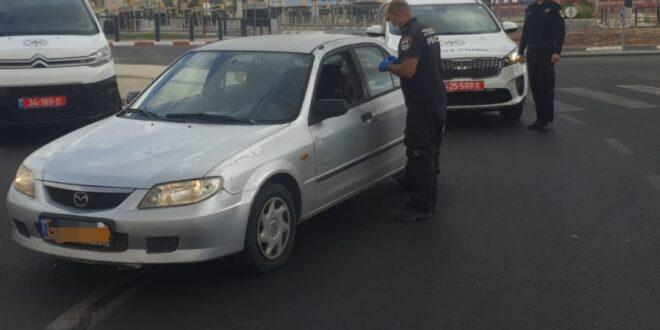 תושב שגב שלום בן 25 נעצר בחשד שביצע שוד רכב בבאר שבע