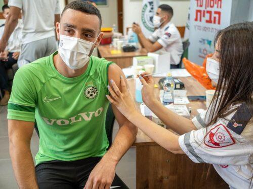 שחקני מכבי חיפה התחסנו לקורונה