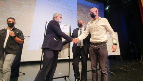 חתימת הסכם גג בין עיריית אום אל פאחם למדינת ישראל