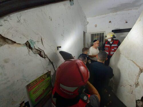 שני בניינים פונו בבני ברק מחשש לקריסה
