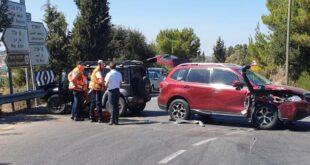 תאונת דרכים מעלה החמישה