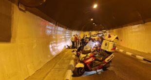 תאונה בין אופניים חשמליים ורכב בירושלים