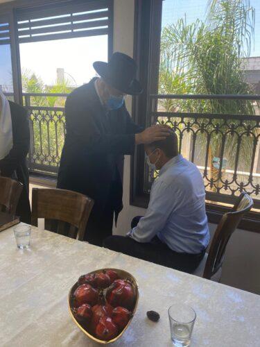 פגישת מתן כהנא עם הרב הראשי