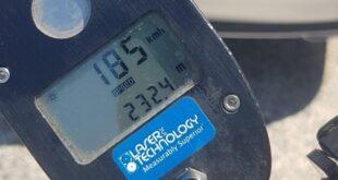 """מכמונת מהירות. פלסטיני נתפס נוהג במהירות של 185 קמ""""ש"""
