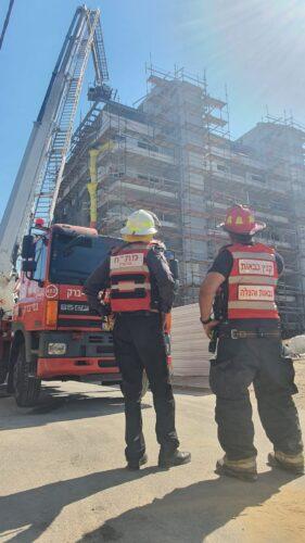 נקבע מותו של פועל הבניין שנפגע מחפץ כבד בקריית אונו