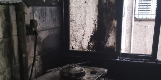 דירת מגורים עלתה באש בבני ברק, אין נפגעים