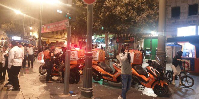 נער בן 17 נפצע בינוני באירוע אלימות בשוק מחנה יהודה בירושלים
