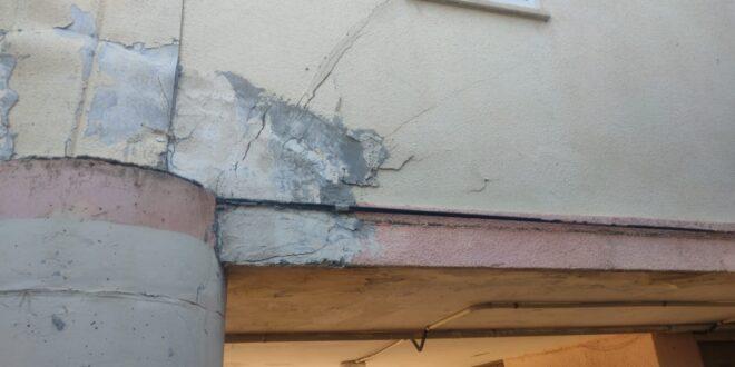 בשל חשש מקריסה: דיירי מבנה מגורים בחיפה פונו מדירותיהם