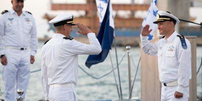 אלוף משנה אלי סוחוליצקי הוא מפקדו החדש של בסיס חיל הים באשדוד