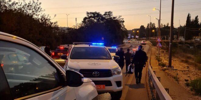 חשודים בדריסת מתנדב המשטרה בנהריה נעצרו באזור כביש 1