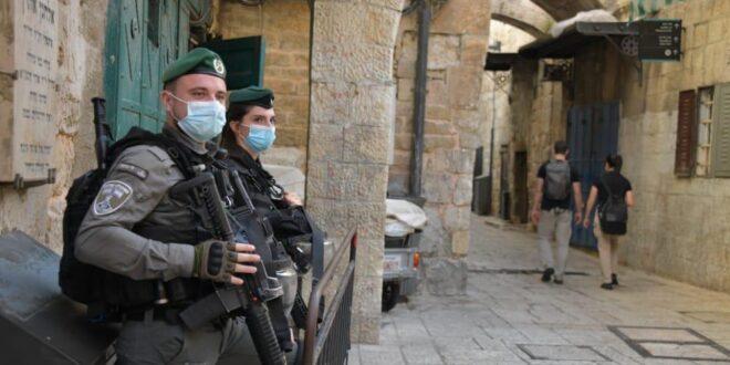 בשל ברכת הכהנים המסורתית: מאות שוטרים נפרסו בעיר העתיקה בירושלים