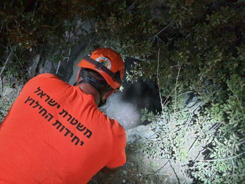 אדם נפל לבור בגובה 20 מטרים סמוך לנחושה