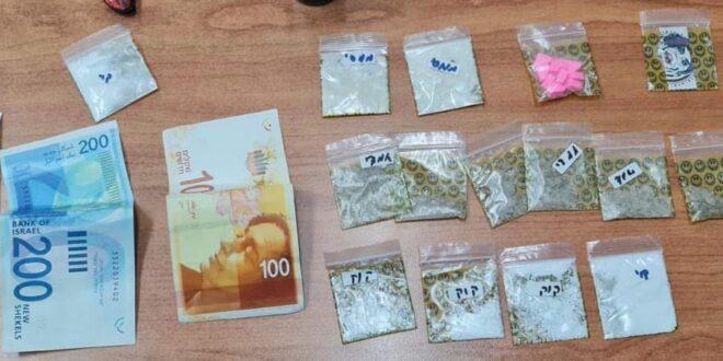 יפו: נער בן 14 נעצר בחשד לסחר בסמים מסוגים שונים