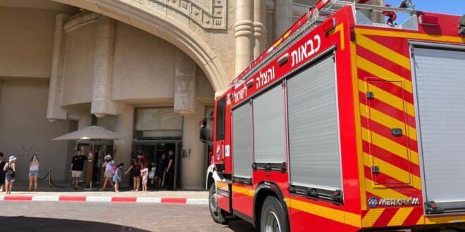שריפה פרצה במלון מלכת שבא באילת, אין נפגעים