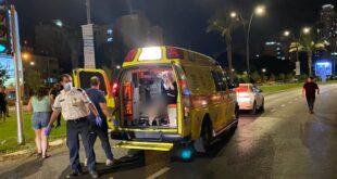 הולכת רגל בת 38 נפגעה מרכב בבאר שבע