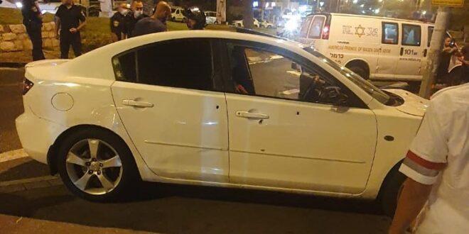 פעולות החייאה בבן 30 שנפצע אנוש באירוע אלימות בחיפה